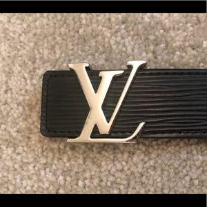 Louis Vuitton Epi Leather Black belt